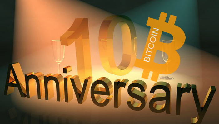 Bitcoin 10 Year Anniversary Watching The Movement Of The Bitcoin Prices Today Techbullion