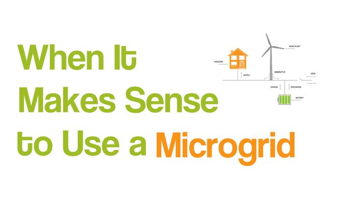 Use a Microgrid