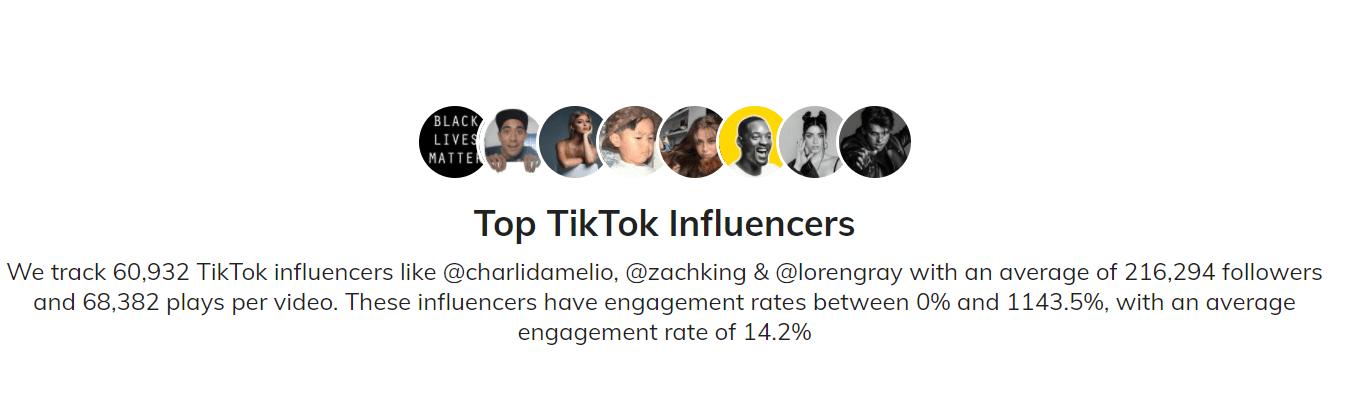 Find TikTok Influencers Now