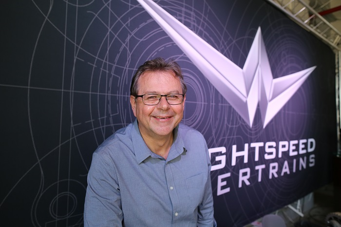 Gilbert Passin, the CEO of Wrightspeed