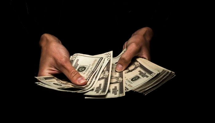 Decline of US dollars