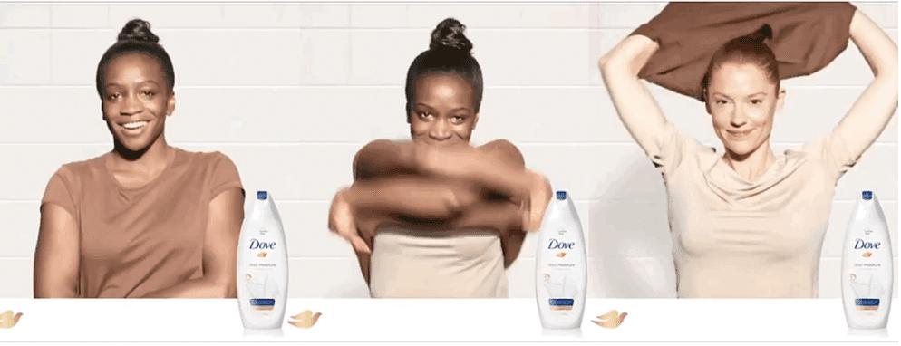 Dove marketing