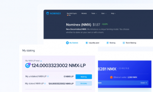 Nominex exchange token NMX