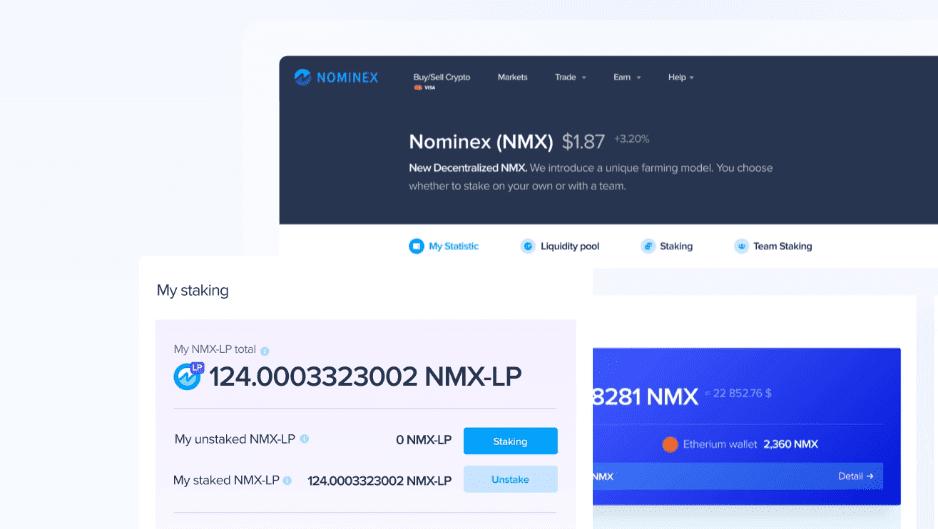 Nominex exchange token NMX