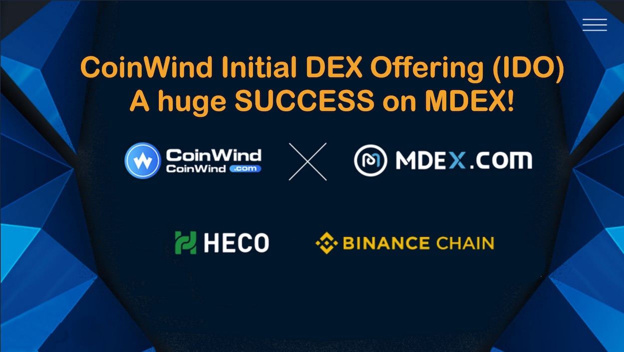 CoinWind ($COW) IDO Lasted Ten Seconds on MDEX