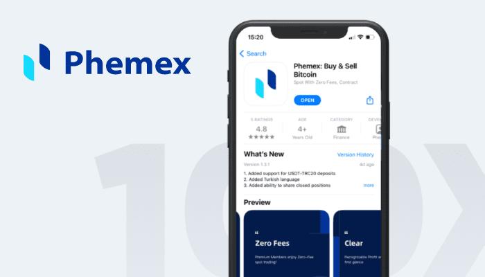 Phemex Q1 Trade