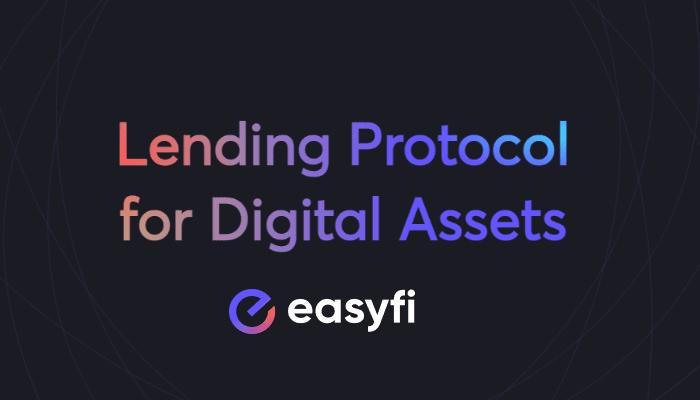 DeFi lending protocol for digital assets