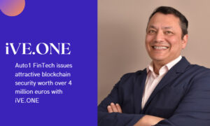 Auto1 FinTech issues attractive blockchain security worth over 4 million euros with iVE.ONE