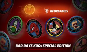 RFOX Games and MarvelousNFTs Launch Special Edition KOGS NFTs on BSC