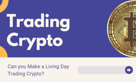 Make a Living Day Trading Crypto