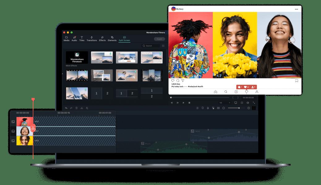 edit and cut videos with Wondershare Filmora X