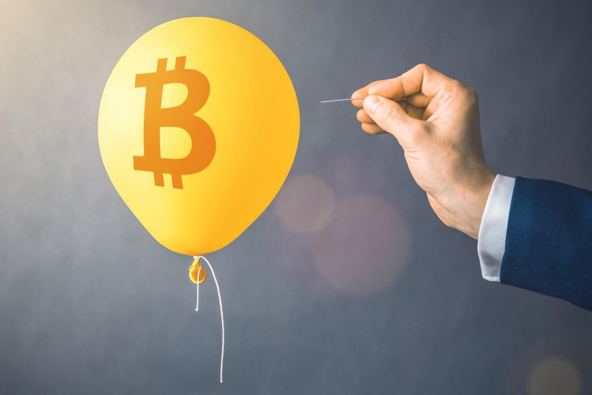 bitcoin bursting buble or future of business