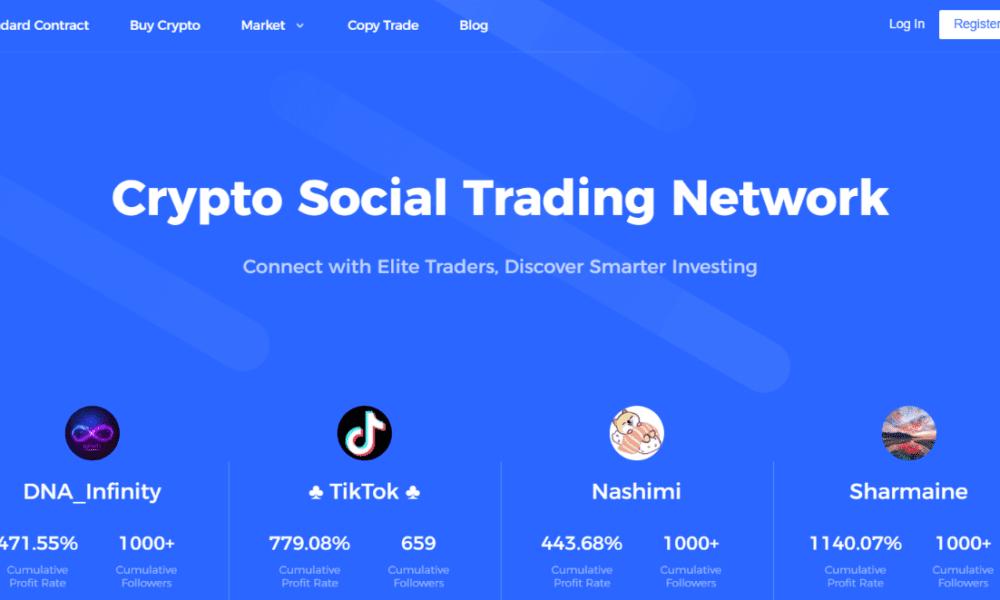 social trading crypto)