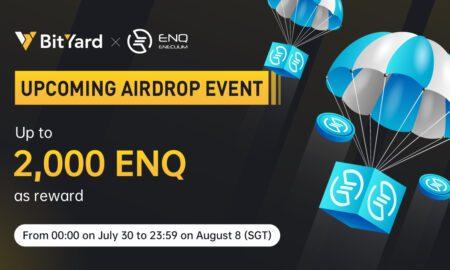Free Airdrop on BitYard