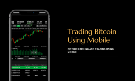 Trading Bitcoin Using Mobile