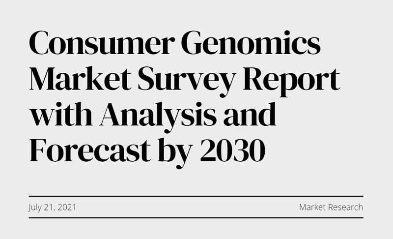 Consumer Genomics Market