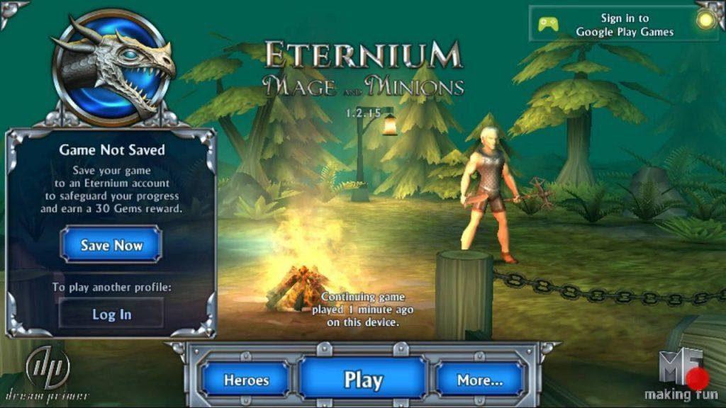 Eternium Game