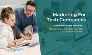 Marketing Budget For Tech Companies
