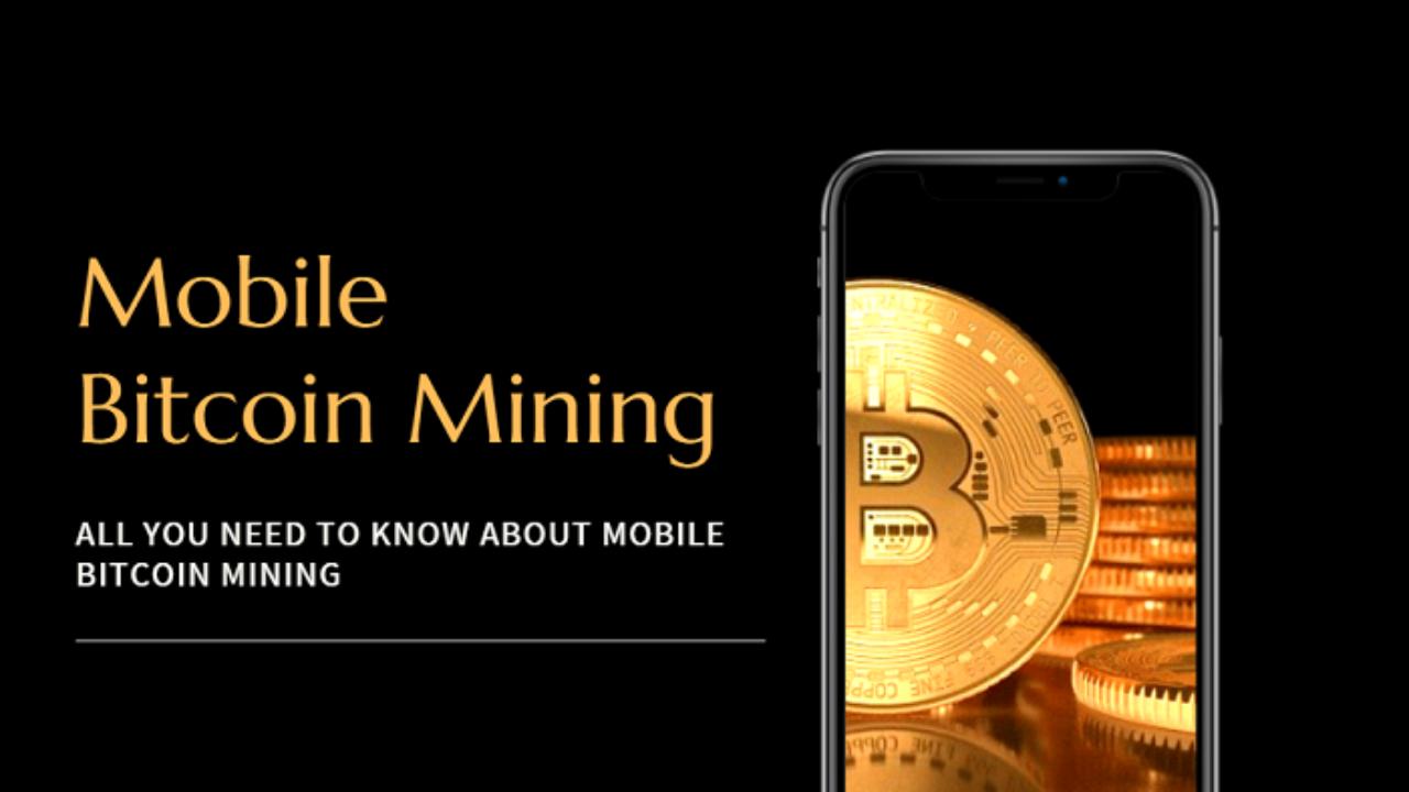 mobile bitcoin mining