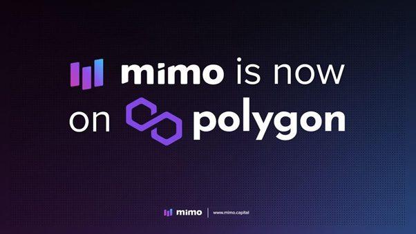 Mimo DeFi Live on Polygon