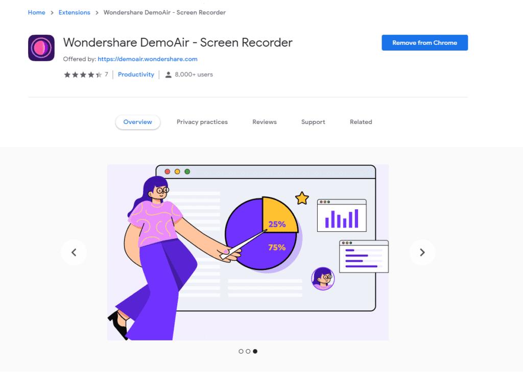 Screen Recorder  extension