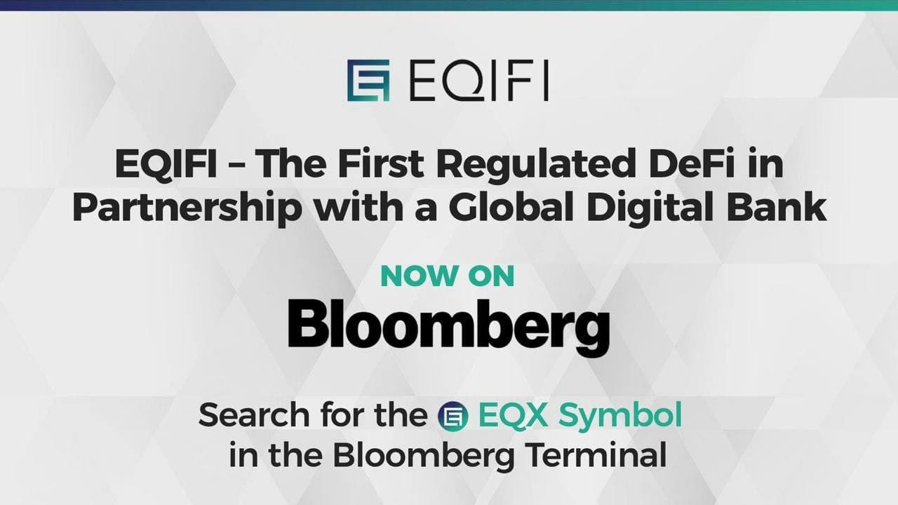 EQIFI, the First Decentralized Protocol