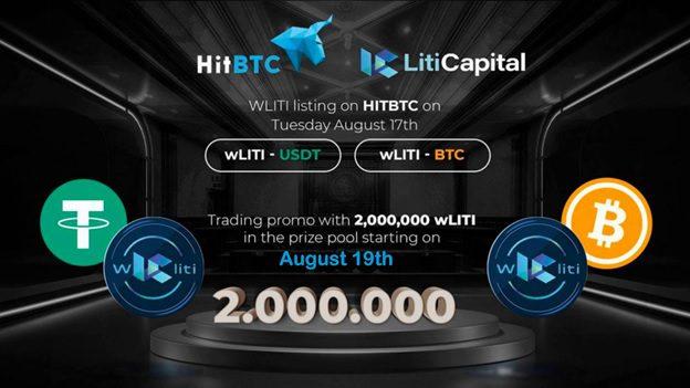 wLITI listing on HITBTC