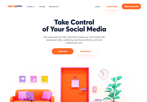 Agorapulse Instagram automation tool