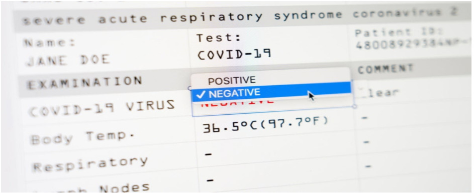 COVID 19 PCR Test Online