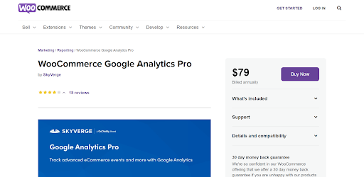 Google Analytics Pro for Ecommerce