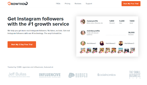 Growthoid Instagram automation tool