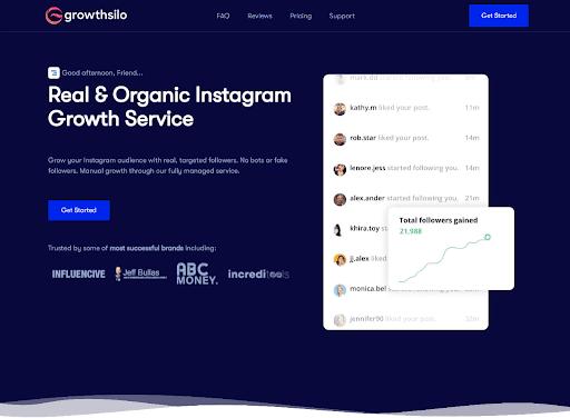 Growthsilo Instagram automation tool