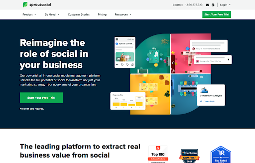 Sprout Social dedicated Instagram automation tool