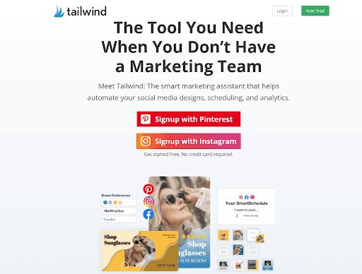 Tailwind Instagram automation tool