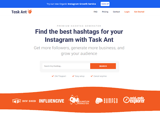Task Ant Instagram automation tool