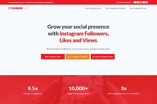 Thunderclap Instagram automation tool