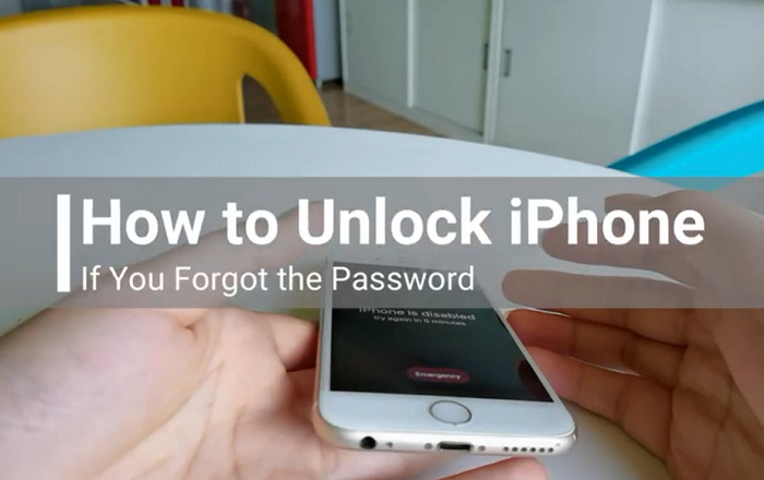 Unlock An iPhone After Forgetting The Passcode