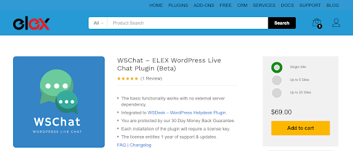 WSChat ordPress Live Chat Plugin for Ecommerce