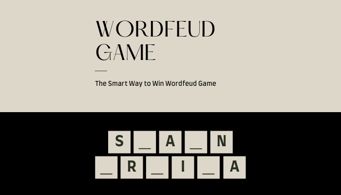 The Smart Way to Win Wordfeud Game