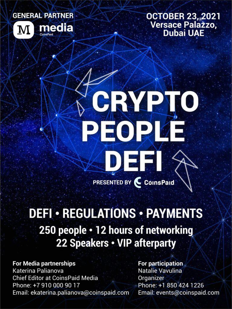 Crypto event Dubai
