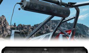 How to install soundbar in UTV
