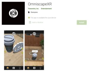 omniscapexr by transmira on google play store